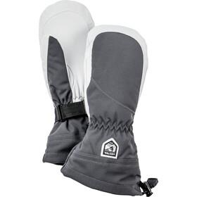 Hestra Heli Ski Guanti Donna, grigio/bianco